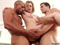 Anal fanatic: pretty blonde babe dahlia sky takes on two hung studs at once, Big Ass, Babe, Hardcore, Pornstar, Anal, Threesome, Double Penetration movies at find-best-videos.com