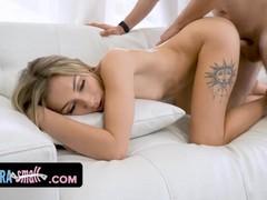 Tiny slut chloe temple gets caught selling nudes and is banged hard, Big Dick, Blonde, Blowjob, Cumshot, Hardcore, Pornstar, Teen (18+), Small Tits movies at freekilosex.com