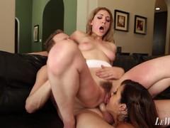 Married couple anal hazing nasty threesome sluts, Big Ass, Big Dick, Big Tits, Blowjob, Cumshot, Pornstar, Anal, Threesome movies