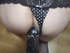 Femdom strapon pov, load cum in sissy ass and hard pegging big strapon, Amateur, Cumshot, Fetish, Handjob, Toys, Anal, POV, Role Play, Transgender, Exclusive, Verified Amateurs videos