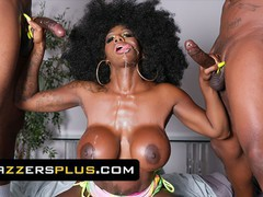 Brazzers - a double facial is a must in ebony mystique's daily skin care routine, Babe, Big Dick, Big Tits, Ebony, Pornstar, Threesome movies at find-best-lingerie.com