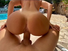 Perfect body blonde fucks me by the swimming pool, Amateur, Big Ass, Big Dick, Big Tits, Cumshot, Reality, POV, Rough Sex, Exclusive, Verified Amateurs movies at find-best-hardcore.com