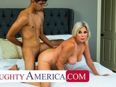 Naughty america - sexy cougar payton hall fucks young cock, Big Dick, Big Tits, Blonde, Blowjob, Handjob, Hardcore, Masturbation, MILF, Pornstar movies at freekilomovies.com