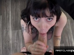Hardcore sloppy blowjob with young petite charlotte sartre - firstclasspov, Big Ass, Big Dick, Brunette, Blowjob, Hardcore, Pornstar, Teen (18+), POV, Small Tits movies