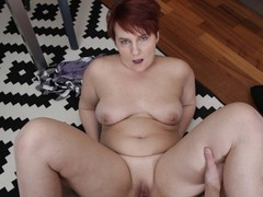 Shame4k. hot bbw forgets about age when approached by her friends son, Blowjob, Mature, POV, Red Head, Russian, Old/Young movies