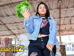 Carnedelmercado big tits chubby colombian babe picked up and fucked full scene, Big Ass, BBW, Big Tits, Blowjob, Cumshot, Hardcore, Latina, Teen (18+) movies at freekiloporn.com
