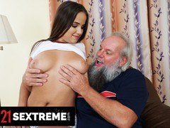 21 sextreme - big booty olivia nice dazzles horny old man with her perfect titties, Big Ass, Big Tits, Blowjob, Mature, Pornstar videos