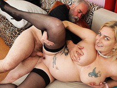 Grandpa fucks busty pregnant milf, Amateur, Big Tits, Blowjob, Hardcore, Rough Sex, Czech, Pussy Licking, Old/Young videos
