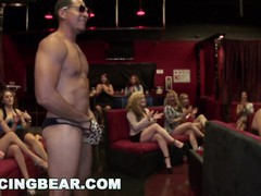 Dancing bear - horny women going crazy for male stripper dick!, Orgy, Big Dick, Blowjob, Latina, Pornstar, Party movies at nastyadult.info