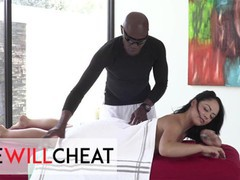 She will cheat - sexy brunette kristina rose jumps on her masseur's bbc, Big Dick, Brunette, Blowjob, Fetish, Hardcore, Interracial, Pornstar, Small Tits, Rough Sex, Massage, Role Play movies