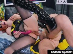 Cosplay cougar shanda fay gets ass fucked as horny batgirl!, Big Tits, Cumshot, MILF, Pornstar, Anal, Rough Sex, Cosplay tubes