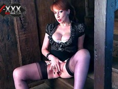 Busty mature red xxx gets off with her favorite toy, Big Tits, Masturbation, Toys, Mature, Pornstar, Red Head, British videos