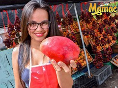 Carne del mercado - nerdy colombian teen makes her very first porn movie, Amateur, Big Ass, Babe, Brunette, Hardcore, Latina, Reality, Teen (18+) movies at freekilomovies.com