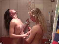 Naked chicks share tender lesbian kisses movies at freekilomovies.com