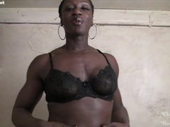 Empress - powerful ebony mistress tubes