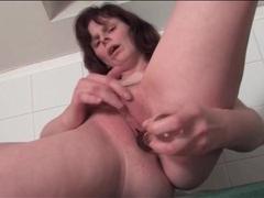 Mature with naughty hard nipples masturbates cunt movies at sgirls.net