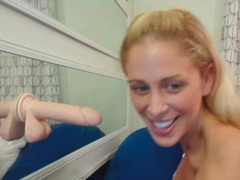 Cherie deville blows and fucks a lifelike dildo movies at kilopics.net