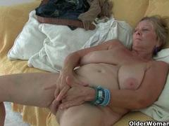 British granny isabel has big tits and a fuckable fanny movies at lingerie-mania.com