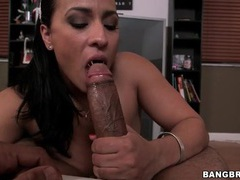 Pov handjob and fucking with big black cock movies at kilosex.com