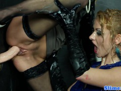 Gloryhole lesbian fisting wet box movies at find-best-panties.com