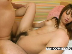 Rina tachikawa - hairy pussy milf enjoying a hard sex movies at sgirls.net