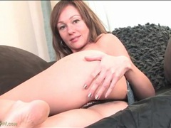 Sasha layne models her thong and masturbates movies at kilopics.net