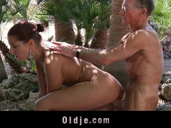 An old man fuck my girlfriend! videos