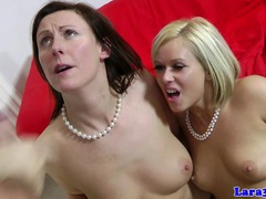 English classy matures in hot threesome videos
