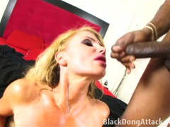 Blond milf getting fucked hard by a bbc videos