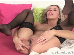 Blonde plays with her pussy and asshole lustily videos