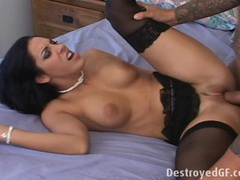 Veronica gets fucked in her ass videos