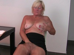 Belgium milf finger fucks her pussy after an exhausting day movies at find-best-panties.com