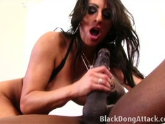 Brunette is getting fucked by a bbc videos