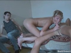 Super leggy blonde girl sucks and fucks movies at find-best-ass.com