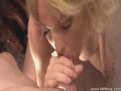 Beautiful wet sloppy milf bj videos