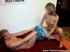 Boyfriend shows up to fuck this teen blonde movies at kilosex.com