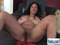 Busty milf shannon rubbing her hairy cunt videos