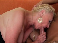 Granny sucks his big cock and they fuck movies at find-best-videos.com