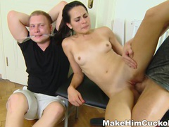 Make him cuckold - busted and made a cuckold movies at relaxxx.net