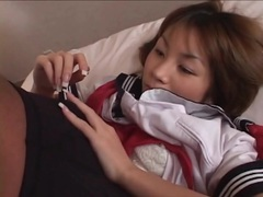 Sweet japanese schoolgirl fingered lustily videos