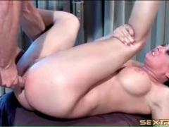 Tory lane groans loudly during deep anal sex clip