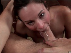 Sloppy wet blowjob from amber rayne videos