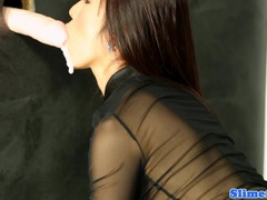 Asian marcia hase at the gloryhole tubes at find-best-asian.com