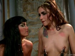 Egyptian goddess licked on the ass by a slave movies at sgirls.net