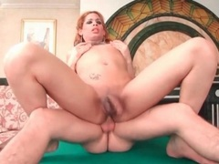 Bareback cock fucks tranny asshole doggystyle videos