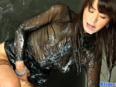 Asian marcia hase jizzed all over tubes at sgirls.net