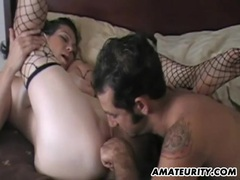 Mature amateur couple homemade action with facial movies at sgirls.net