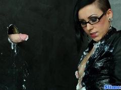 Spex euro slut drenched in cum movies at freekilomovies.com