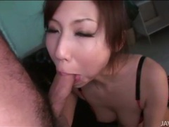 Teen japanese girl in a skirt rides a cock tubes at lingerie-mania.com