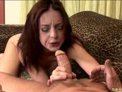 Face fucked skinny girl gags on his shaft movies
